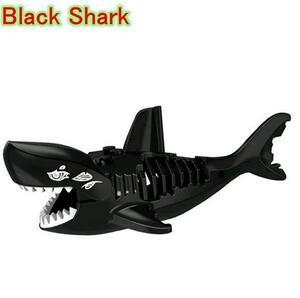 【国内即日】☆ ブラック シャーク ☆ 鮫 サメ フィギュア レゴ互換 ブロック パイレーツオブカリビアン LEGO 風 ミニフィグ