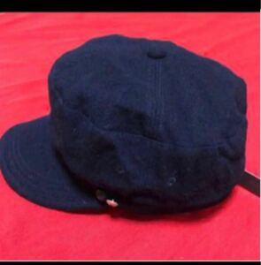 帽子 キャスケット クローバータグ付き新品未使用品