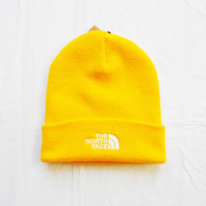 THE NORTH FACE/ザノースフェイス THE NORTH FACE LOGO ニットキャップ イエロー UNISEX