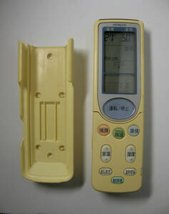 HITACHI 日立 エアコン用 リモコン RAR-2X1(壁掛け用ホルダー付き)単4電池タイプ 【 中古品 】