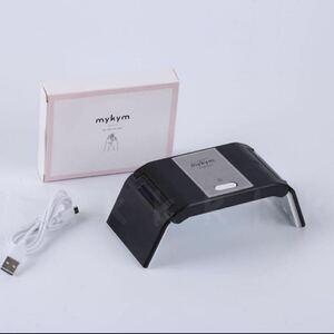 コンパクトネイルドライヤー mykym正規品 日本語説明書 付 black