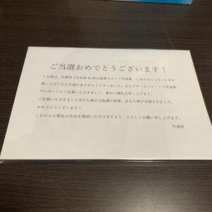 乃木坂46 秋元真夏 セカンド写真集 アザーカット 抽プレ