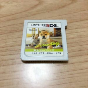 「nintendogs + cats 柴&Newフレンズ」 3DS 3DSソフト