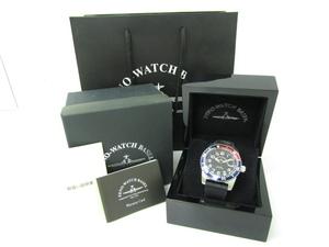 未使用 ZENO-WATCH BASEL 6349-515Q-12-a1 47 クォーツ腕時計♪AC18916