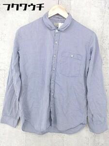 ◇ ◎ MARGARET HOWELL マーガレットハウエル 長袖 シャツ サイズS ライトブルー メンズ