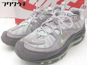 ◇ ◎ NIKE ナイキ 640744-011 Nike Air Max 98 スニーカー シューズ サイズ26cm グレー メンズ