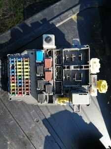 内装 室内ヒューズボックス ユニット 平成H19年12月 DBA-RB1- 3412625後期オデッセイMエアロ HDDナビスペシャル 黒B-92P K24A 2400cc