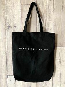 ■即決■DANIEL WELLINGTON ダニエルウェリントン トートバッグ エコバッグ ショッピングバッグ ブラック セカンドバッグ