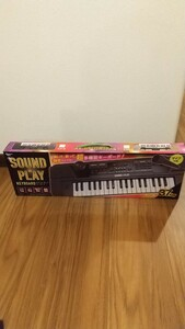 未使用非売品。Sound&playキーボードブラック。