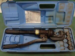 ■泉精器 T形コネクタ用 手動油圧式 圧着工具 15号B  イズミ IZUMI 【0】