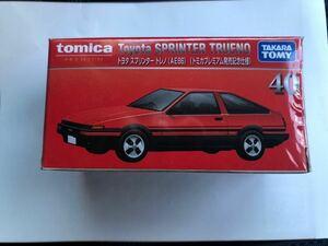トミカ 新品未開封 トミカプレミアム No.40 トヨタ スプリンタートレノ AE86 発売記念仕様 限定