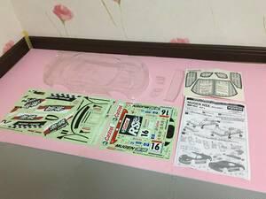 送料無料 京商 ラジコン ボディ 1/10 ホンダ 無限 NSX レーシングカー ステッカー デカール KYOSHO HONDA