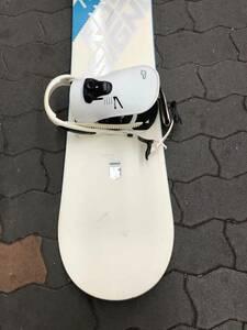 スノーボード 157cm / FLUXスノーボードビンディング L/M セット