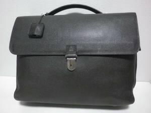 ◆dunhill/ダンヒル◆上質 BOURDON キーロック式 レザー ブリーフケース ビジネスバッグ/21.4万