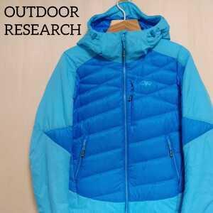 outdoor research diode hooded jacket アウトドアリサーチ ダイオードジャケット レディース XS 登山 ダウン プリマロフト