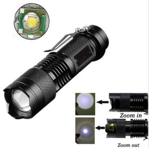 送料無料 懐中電灯 強力 米CREE社製 LED 260ルーメン 防水 IPX-67 単3乾電池式 フラッシュライト 強力 防災 ライト ズーム 点滅 3段階