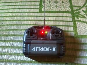 FUTABA フタバ ATTACK Ⅱ ラジコンコントローラー ジャンク品