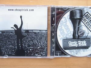 CD チープトリック AUTHORIZED GREATEST HITS 輸入盤