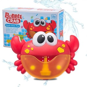お風呂時間も楽しく◎お風呂のおもちゃ かに バブルメーカー 泡 メロディー かわいい バスタイム キッズ 水遊び 浴室 プレゼント