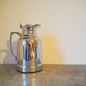 希少 美品ドイツ alfi オパール シルバー クローム 銀 1L コーヒーポット ティーポット 魔法瓶 コーヒーサーバー シャビー 卓上ポット