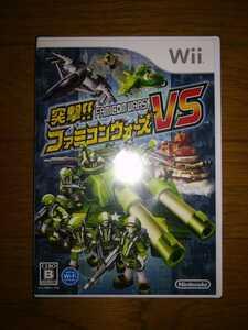 Wii ソフト 突撃!! ファミコンウォーズVS 新品・未開封