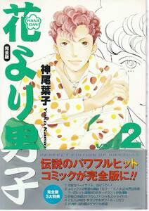●花より男子 VOL.2 完全版 HANADAN 伝説のパワフルヒットコミックが完全版に 神尾葉子著 集英社刊