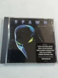 輸入盤サントラ『スポーン・ザ・アルバム SPAWN THE ALBUM』中古品。即決。