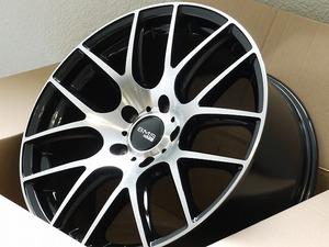 新品 18インチ M72 5穴120 +38 ハブ72.6 ホイール4本セット BMW 3シリーズ E90 F31 F31 Z4 E89 X3 E83 (W2333-2)