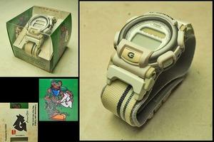 【CASIO カシオ G-SHOCK】nexax ネグザクス DW-003C-7T クラブバージョン 1997 ダギング 腕時計 説明書付き ケース付き