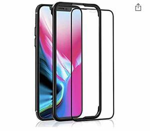 iPhone 11 Pro/XS/X ガラスフィルム 用 液晶保護強化ガラス【ガイド枠付き/全面保護/ケースに干渉しない】 5.8インチ 用 フィルム