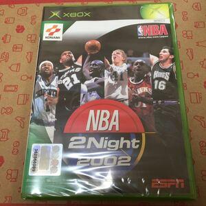 xbox 新品未開封 NBA 2night 2002
