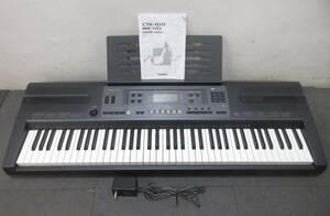 CASIO カシオ 電子キーボード 動作良好 ベーシックキーボード 電子ピアノ 電子楽器 WK-110 キーボード