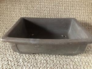 植木鉢 鉢 盆栽 盆栽鉢 ガーデニング 浅型 陶器 長方形 フラワーポット 88