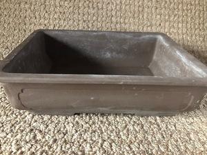 植木鉢 鉢 盆栽 盆栽鉢 ガーデニング 浅型 陶器  長方形 フラワーポット 宝泉 91