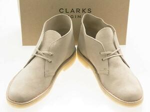 新品/CLARKS ORIGINALS/クラークス オリジナルズ/DESERT BOOTS/デザートブーツ/SAND SUEDE/サンド スエード/26138235/27.0cm