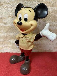 期間限定SALE!! 1970s ミッキーマウス 人形 フィギュア 3 ビンテージ ディズニー