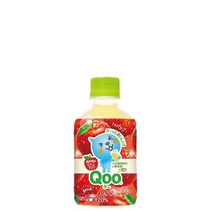 ミニッツメイド Qoo りんご 280ml 24本 (24本×1ケース) PET ペットボトル フルーツ 果汁ジュース アップル【送料無料】