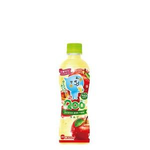 ミニッツメイド Qoo りんご 425ml 24本 (ケース) PET フルーツジュース 果汁 アップルジュース【送料無料】