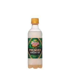 カナダドライ プレミアジンジャーエール PET 380ml 24本 (1ケース) ginger ale コカコーラ社【送料無料】