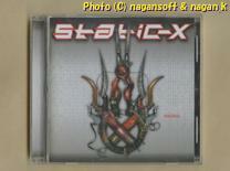 ★即決★ Static‐X (スタティック-X) / Machine -- 米国、2001年発表、2ndアルバム、早口ボーカルとダンサブルなリズムでメタルロック