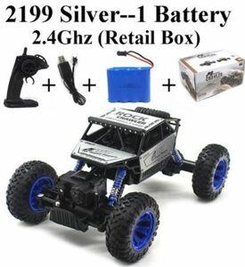 2.4 2.4ghzロッククローラー1:16 rcカー4WDラジオ制御スノーモービル4x4駆動のリモートコントロールおもちゃの男の子のギフト