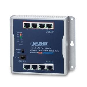 -20~60℃の動作温度 4ポートPoE +を備えた産業用8ポート10/100 / 1000T壁掛けギガビットスイッチ