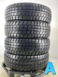 送料無料 中古タイヤ スタッドレスタイヤ 4本セット 175/65R15 ダンロップ ウィンターマックス WM02