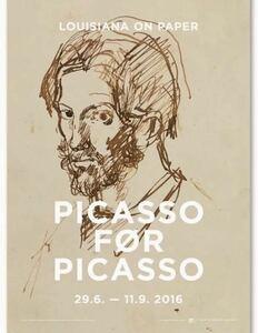 ピカソ PICASSO FOR PICASSO展 ポスター (デンマーク)   現代美術 コンテンポラリーアート