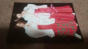 魔法女子セイレーン ブロマイド 2枚セット 直筆サイン グッズ 生写真 写真 成田美郷, 若菜莉子