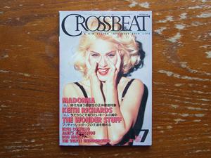CROSSBEAT 1991年7月号 No.38 検 クロスビート マドンナ キースリチャーズ ワンダースタッフ エルビス・コステロ ジェーンズアディクション