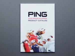 【カタログのみ】PING 2020 SPRING & SUMMER CATALOG 検 G410 G710 i210 i500 GLIDE DRIVER IRON PUTTER G Le2 SIGMA2 Prodi バッグ