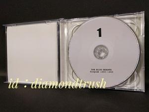 ◆ザ.ブルーハーツBest SINGLES 1990-1993 ベスト 2枚組 CDアルバム 21曲 ♪情熱の薔薇/鉄砲/旅人/パーティー/夕暮れ/すてごま/夜の盗賊団