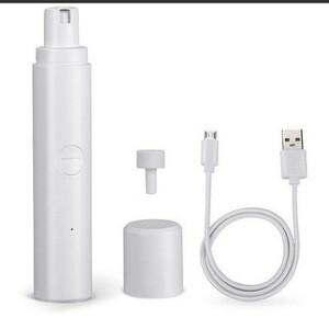 電動ペット爪切り USB ネイルケア ペット用品 トリミング