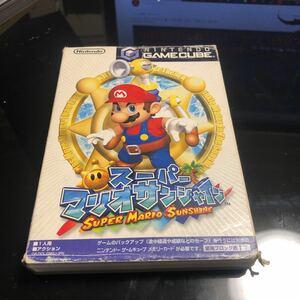スーパーマリオサンシャイン ゲームキューブ ソフト